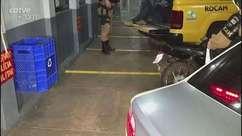 Jovem é detido suspeito de adulterar placa de motocicleta em Cascavel