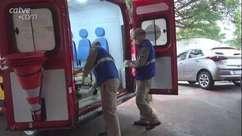 Morador de rua é esfaqueado em Foz do Iguaçu