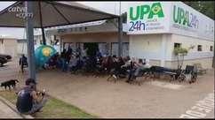Pacientes reclamam de demora no atendimento na UPA Brasília em Cascavel