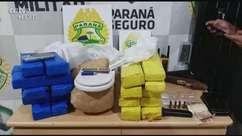 Dois homens e um adolescente são detidos por tráfico de drogas em Cascavel