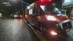 Acidente entre van e carro deixa duas mulheres feridas, no Coqueiral