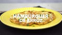 Hambúrguer de arroz