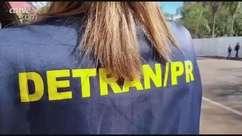 Maio Amarelo: 'bom motorista' recebe certificado do Detran