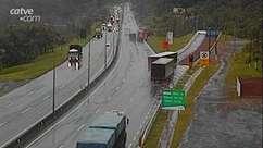 Área de Escape auxilia motorista com veículo sem freios em Guaratuba