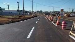 Trevo Cataratas: tráfego em nova pista de acesso será liberado nesta sexta-feira