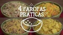 Farofas práticas