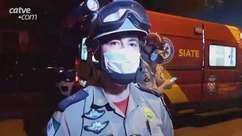 Tenente do Corpo de Bombeiros fala sobre esfaqueamentos em Cascavel