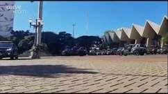 Operação Pronta Resposta é lançada em frente a Catedral de Cascavel