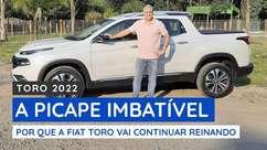 Fiat Toro Volcano flex: agora com muito mais potência.