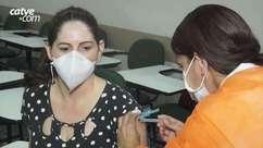 Covid-19: Foz começa a vacinar profissionais de saúde com mais de 40 anos