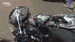 Adolescente fica ferida em acidente entre carro e moto no Bairro Morumbi