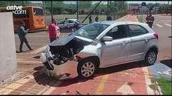 Acidente entre dois carros é registrado em Toledo
