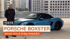Porsche Boxster GTS eleva o conceito de conversível