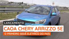 Caoa Chery Arrizo 5e inaugura elétrica dos sedãs