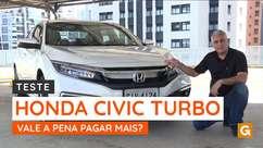Vale a pena pagar mais pelo Honda Civic com motor turbo?