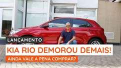 Kia Rio chega com 130 cv para enfrentar os novos HB20 e Onix