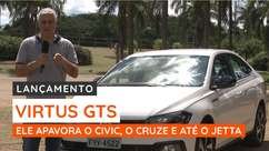 Virtus GTS ataca Honda Civic, Chevrolet Cruze e VW Jetta