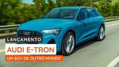 Audi E-tron, o incrível SUV elétrico com dois motores