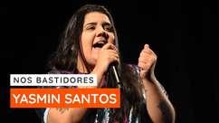 Yasmin Santos é convidada da live Nos Bastidores
