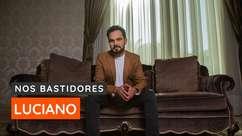 """Luciano chora ao falar sobre álbum gospel, """"A Ti Entrego"""""""