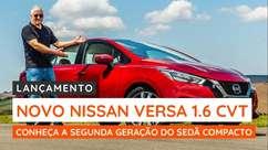 Já testamos a segunda geração do Nissan Versa 1.6 CVT