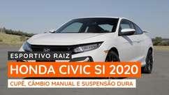 Honda Civic Si 2020 mantém câmbio manual de 6 marchas