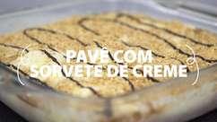 Saiba fazer um delicioso pavê com sorvete de creme