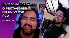 Gamers PCD ganham protagonismo com lives