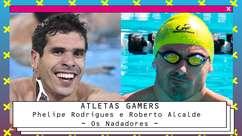 Nadadores paralímpicos usam games para focar na natação