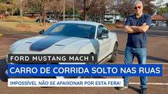 Ford Mustang Mach 1: carro de corrida para as ruas