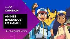 GameON Noob: Animes baseados em games