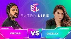 Extra Life: Gi Bicalho e Viegas aceleram em jogo de corrida