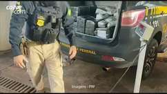 PRF prende homens transportando haxixe, skunk e maconha