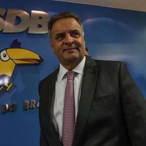 Aécio vence Doria e emplaca aliado na liderança do PSDB