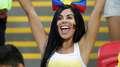 Alegria colombiana, choro polonês; veja fotos das torcidas
