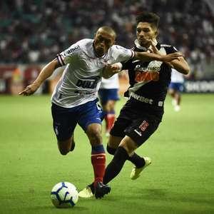 Bahia e Vasco empatam em jogo com decisões polêmicas do VAR