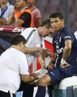 Thiago Silva para por um mês e perderá 1ª lista de Dunga