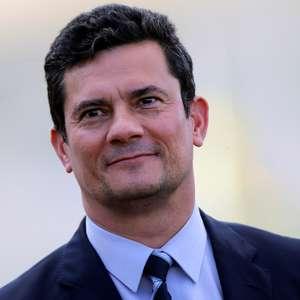 Pesquisa mostra Moro mais popular do que Bolsonaro