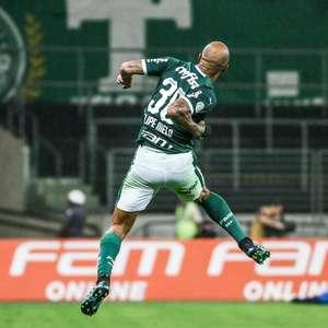 Felipe Melo marca no último lance e Palmeiras bate a ...