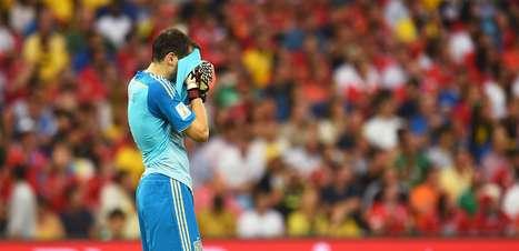 """De """"tiki-taka"""" a Diego Costa: os 7 erros da Espanha na Copa"""