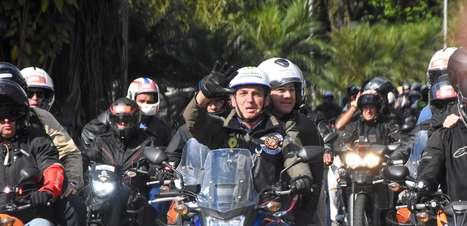 'Motociata' custou R$ 1,2 milhão aos cofres públicos