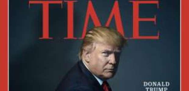 Trump é eleito personalidade do ano pela 'Time'