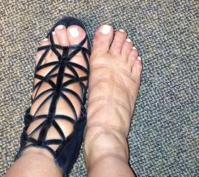 38 semanas de gravidez no tornozelo direito mais inchado que no esquerdo