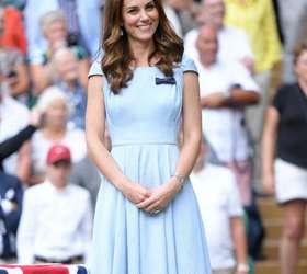 Vestido Romântico E Brincos Preferidos O Look De Kate