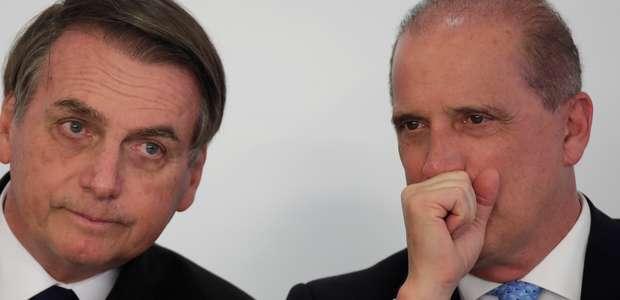 """Em áudio, Onyx diz que governo deu """"uma trava na Petrobras"""""""