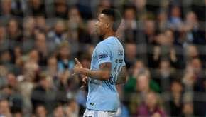 Jesus marca, e Manchester City segue 100% na Champions