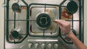 Sujeira acumulada no fogão? Aprenda como tirá-la!