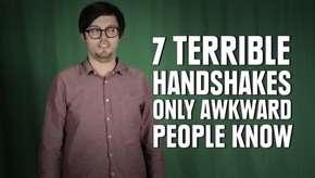 7 formas de cumprimentar que só os tipos estranhos conhecem