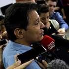 'Espero que Ciro dê um alô de onde estiver', diz Haddad