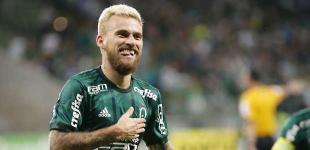 Lucas Lima faz na estreia, e Palmeiras vence 1ª da era Roger